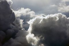 Majecticwolken Stock Foto