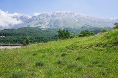 Majella berg Abruzzo Italien Royaltyfri Foto