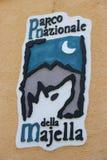 Majella Nationaal Park in Italië royalty-vrije stock foto