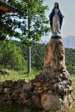 Majella Nationaal Park in Italië De stad van Palena stock fotografie
