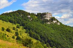 Majerova Skala. One from beautiful places in Slovakia stock photos