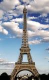 majestätisches Eiffelturmsymbol der Stadt von Paris mit HDR-Effekt lizenzfreie stockfotos