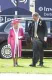 MAJESTÄT Königin Elizabeth II Stockbild