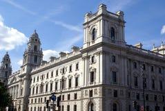 MAJESTÄT Treasury der Fiskus, London, England, Großbritannien Stockbild