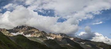 Majestätische Berge Stockfoto