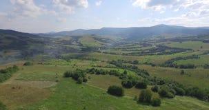 Majestätische Berge in 4K (von der Luft) stock video
