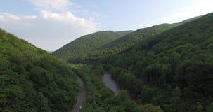 Majestätische Berge in 4K (von der Luft) stock video footage