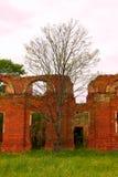 Majestätische Ruinen von Ställen und von Hauptsitzen von Husaren Lizenzfreie Stockfotografie