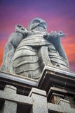 Majestätische Statue von Thiruvalluvar, Kanyakumari Lizenzfreie Stockfotografie