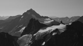 Majestätischer Berg Sustenhorn Stockbild