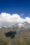 Majestätischer Kazbek-Berg Lizenzfreies Stockbild