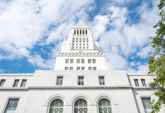 Majestätischer Rathaus-Turm in Los Angeles Lizenzfreies Stockbild