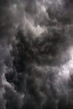 Majestätischer Sturm über der Straße von Odessa nach Kiew Lizenzfreie Stockfotos