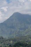 Majestätischer tropischer Berg lizenzfreies stockfoto