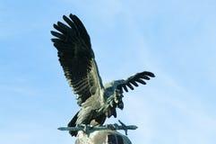 Majestätischer Turul-Adler Stockfotografie