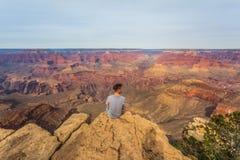 Majestätisches Grand Canyon, Arizona, Vereinigte Staaten stockfotografie