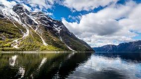 Majestätisches Norwegen Lizenzfreies Stockfoto