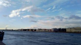 Majestätisches St Petersburg Stockfoto