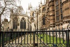 Majestätisches Westminster Abbey in London, Großbritannien, kulturell er lizenzfreie stockbilder