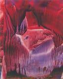 majestätisk cavern Arkivfoto