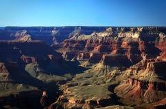 Majestätisk sikt av Grandet Canyon Arkivfoto