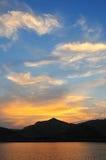 Majestätisk sky arkivfoton