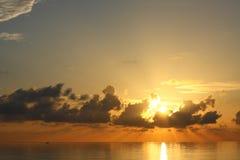 majestätisk soluppgång Fotografering för Bildbyråer