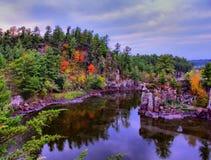 Majestätisk St Croix River Fotografering för Bildbyråer