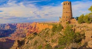 Majestätisk utsikt av Grand Canyon Arkivfoton