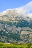 Majestätiska berg Italien Arkivbilder