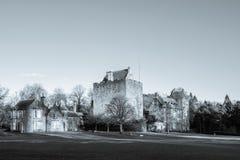 Majestätiska byggnader av dekanslotten i östlig AyrshireKilmarnock Sc royaltyfria bilder