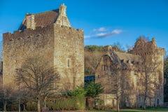 Majestätiska byggnader av dekanslotten i östlig AyrshireKilmarnock Sc fotografering för bildbyråer