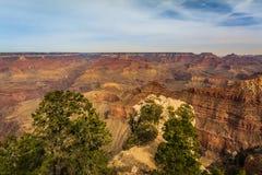 Majestätiska Grand Canyon, Arizona, Förenta staterna arkivbilder