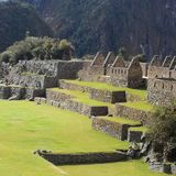 Majestätiska Machu Picchu arkivfoto