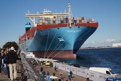 Majestätiska Maersk Fotografering för Bildbyråer
