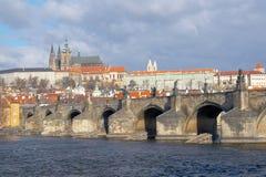 Majestätiska Prague Royaltyfri Bild