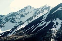 majestätiskt berg för liggande Royaltyfria Bilder
