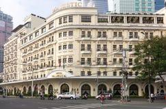Majestätiskt hotell Fotografering för Bildbyråer