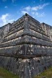 Majestätiskt Mayan fördärvar i Chichen Itza, Mexico Fotografering för Bildbyråer