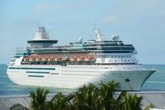 Majesté des mers à Key West Images libres de droits