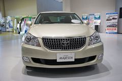 2017 Majesta-Kroon Toyota-Auto japan Royalty-vrije Stock Fotografie