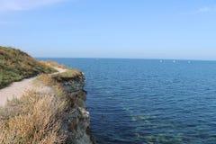 Majestad de la naturaleza, del mar, de la tierra y de las rocas Fotografía de archivo libre de regalías