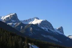 Majestad de montañas rocosas, Canadá fotografía de archivo