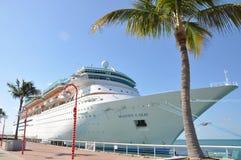 Majestat morza w Key West Zdjęcia Royalty Free