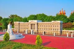 majestatyczna europejska architektury fontanna obraz royalty free