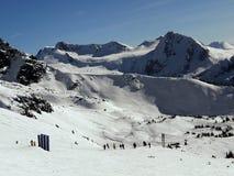 majestatyczne góry Fotografia Royalty Free