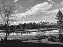Majestatyczne Montana góry obraz stock