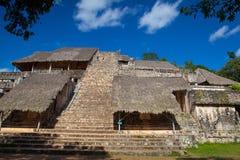 Majestatyczne ruiny w Ek Balam Yucatà ¡ n, Meksyk fotografia royalty free