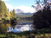 Majestatycznej góry Lassen aktywny wulkan Zdjęcia Royalty Free