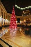 Majestatyczni 5 Cana eleganci Punta hotelu gwiazdowy Łączny lobby dekorował z choinką Zdjęcie Royalty Free